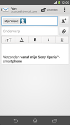 Sony Xperia M2 (D2303) - E-mail - E-mails verzenden - Stap 8