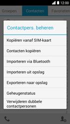 Huawei Ascend Y530 (Model Y530-U00) - Contacten en data - Contacten kopiëren van toestel naar SIM - Stap 5