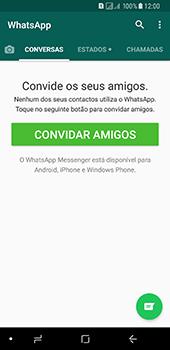 Samsung Galaxy A8 (2018) - Aplicações - Como configurar o WhatsApp -  14