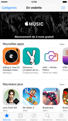 Apple iPhone 6 iOS 9 - Applications - Créer un compte - Étape 3