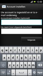 Sony ST26i Xperia J - E-mail - e-mail instellen: POP3 - Stap 16