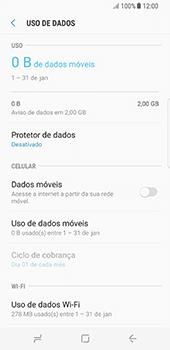 Samsung Galaxy S8 - Rede móvel - Como ativar e desativar uma rede de dados - Etapa 7