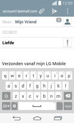 LG F60 4G (LG-D390n) - E-mail - Hoe te versturen - Stap 9