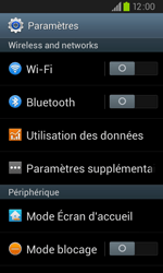 Samsung I9105P Galaxy S II Plus - MMS - configuration manuelle - Étape 5