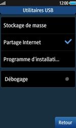 Samsung Wave 2 - Internet et connexion - Utiliser le mode modem par USB - Étape 8