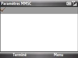 HTC S521 Snap - MMS - Configuration manuelle - Étape 18