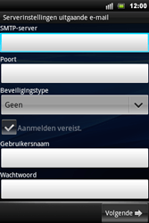 Sony Ericsson Xperia Mini Pro - E-mail - Handmatig instellen - Stap 9