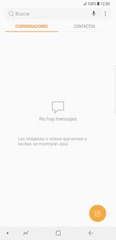Samsung Galaxy Note 8 - Mensajería - Escribir y enviar un mensaje multimedia - Paso 4