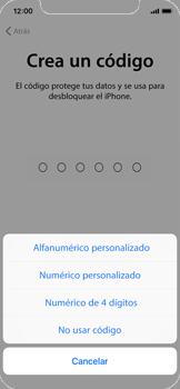 Apple iPhone X - Primeros pasos - Activar el equipo - Paso 13