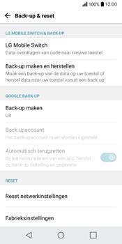 LG Q6 (LG M700n) - Instellingen aanpassen - Fabrieksinstellingen terugzetten - Stap 6