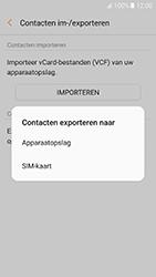 Samsung Galaxy A5 (2017) (SM-A520F) - Contacten en data - Contacten kopiëren van toestel naar SIM - Stap 8
