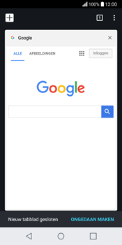 LG Q6 (LG M700n) - Internet - Hoe te internetten - Stap 17
