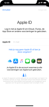 Apple iphone-xr-met-ios-13-model-a1984 - Instellingen aanpassen - Back-up maken in je account - Stap 18