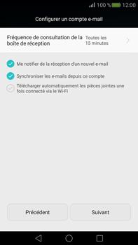 Huawei Mate S - E-mail - Configuration manuelle (yahoo) - Étape 8