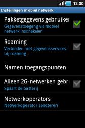 Samsung S5660 Galaxy Gio - Bellen - in het buitenland - Stap 6