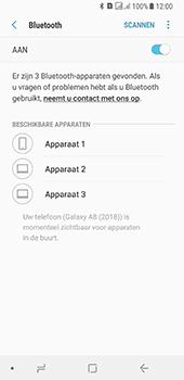 Samsung galaxy-a8-2018-sm-a530f-android-oreo - Bluetooth - Headset, carkit verbinding - Stap 7