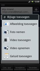 Sony Ericsson Xperia Neo V - E-mail - e-mail versturen - Stap 9