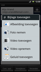 Sony Ericsson MT11i Xperia Neo V - E-mail - hoe te versturen - Stap 10