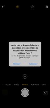 Apple iPhone XS Max - Photos, vidéos, musique - Prendre une photo - Étape 3
