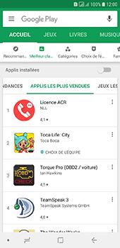 Samsung Galaxy A6 - Applications - Télécharger une application - Étape 9