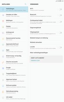 Samsung Galaxy Tab A 10.1 (T585) - Android Nougat - Netwerk selecteren - Handmatig een netwerk selecteren - Stap 6