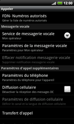 HTC A9191 Desire HD - Messagerie vocale - configuration manuelle - Étape 6
