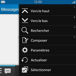BlackBerry Q5 - MMS - configuration manuelle - Étape 5