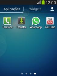 Samsung Galaxy Pocket Neo - Aplicações - Como configurar o WhatsApp -  4