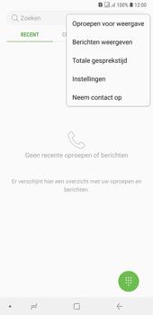 Samsung Galaxy A7 (2018) - Voicemail - handmatig instellen - Stap 7