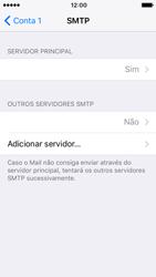 Apple iPhone 5s iOS 10 - Email - Configurar a conta de Email -  22