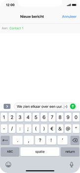 Apple iPhone X - MMS - hoe te versturen - Stap 7