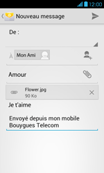 Bouygues Telecom Bs 401 - E-mails - Envoyer un e-mail - Étape 14