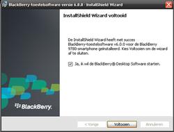 BlackBerry 9780 Bold - Software - installeer firmware update - Stap 12