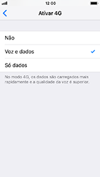 Apple iPhone SE - iOS 12 - Internet no telemóvel - Como ativar 4G -  7