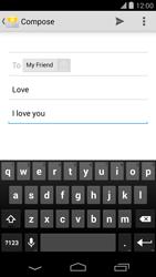 LG D821 Google Nexus 5 - Email - Sending an email message - Step 9