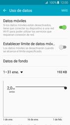 Samsung Galaxy A5 (2016) - Internet - Ver uso de datos - Paso 5