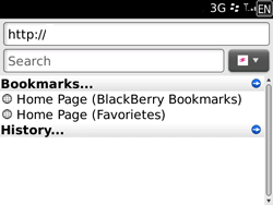 BlackBerry 9700 Bold - Internet - Internet browsing - Step 4