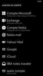 Nokia Lumia 830 - E-mail - Configurer l
