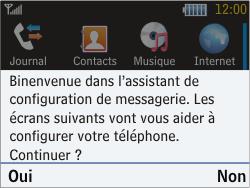 Samsung S3570 Chat 357 - E-mail - Configuration manuelle - Étape 4