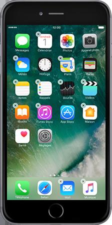 Apple Apple iPhone 6 Plus iOS 10 - iOS features - Liste des nouvelles fonctions - Étape 7
