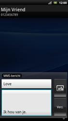 Sony Ericsson Xperia Arc S - MMS - afbeeldingen verzenden - Stap 12