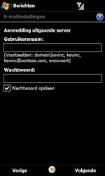 Samsung I8000 Omnia II - E-mail - Handmatig instellen - Stap 14