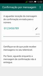 Alcatel Pixi 3 - Aplicações - Como configurar o WhatsApp -  8