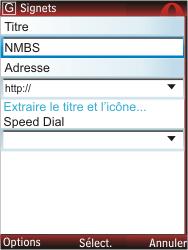 Nokia X2-00 - Internet - Navigation sur Internet - Étape 12