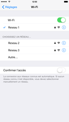 Apple iPhone 6 Plus iOS 8 - Wifi - configuration manuelle - Étape 6
