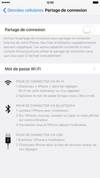Apple iPhone 6s Plus - Internet et connexion - Partager votre connexion en Wi-Fi - Étape 5