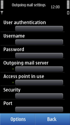 Nokia N8-00 - Email - Manual configuration - Step 21