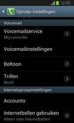 Samsung I8730 Galaxy Express - Voicemail - Handmatig instellen - Stap 6
