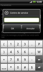 HTC S510e Desire S - SMS - Configuration manuelle - Étape 7