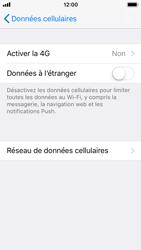 Apple iPhone 5s - iOS 11 - Internet et connexion - Activer la 4G - Étape 5